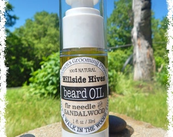 Beard Oil - Gentleman's Grooming Products - Sandalwood