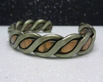 Vintage Copper Bangle Bracelet.