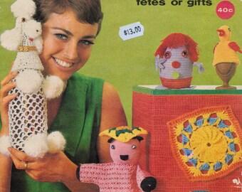 Vintage crochet patterns- Pete the Puppet