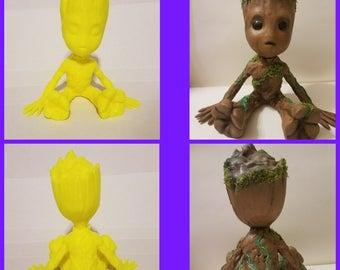Baby Groot Figure