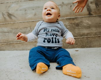 My rolls have rolls infant/toddler creeper bodysuit