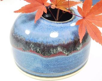 Ikebana Vessel - Japanese Arranging - Japanese Flower Vase - Japanese Vase - Pottery Ikebana - Ceramic Ikebana - Ikebana Vase - In Stock