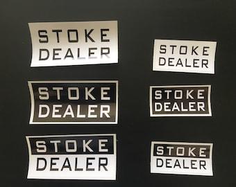 Original Stoke Dealer Vinyl Sticker Pack