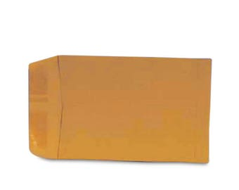 "25 Envelopes, 6"" x 9"",  Kraft envelopes / mailers"