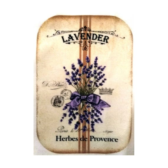 """Applied fusible - Collection """"Lavender"""" AT403-8"""