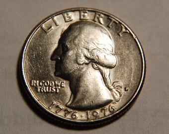 1976-D WASHINGTON ERROR QUARTER