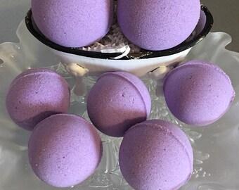 Lavender Bath Bomb, Bath Fizzy, Gifts, Bath and Beauty,