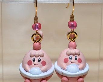 Pokemon character earrings - Happiny