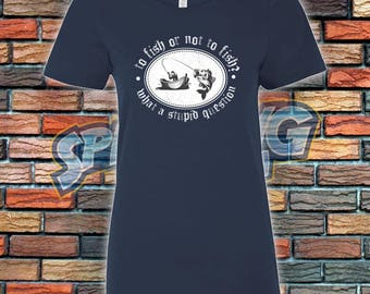 To Fish Ladies Tee