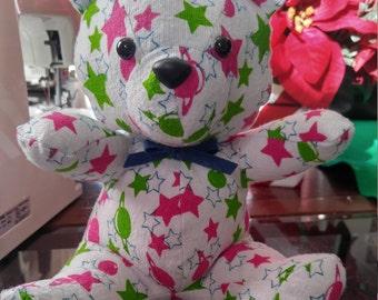Keepsake Bear from Baby Blanket