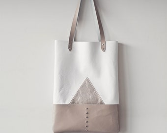 CIJ 20% OFF Silver Mountain Leather Tote bag No. TL- 4001