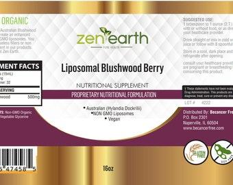 569d8ede32 Liposomal Blushwood Berry 16 oz Non-GMO Vegan