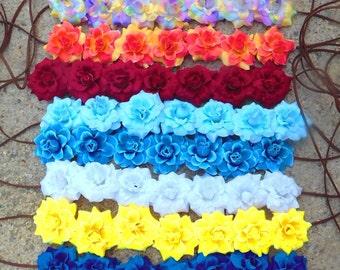 Floral Roses Flower Crown Headband