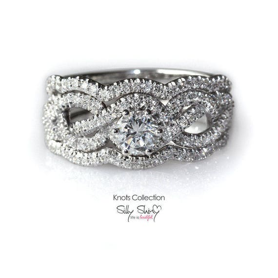 Engagement Rings Knot: Infinity Engagement Rings Infinity Knot Engagement Ring With