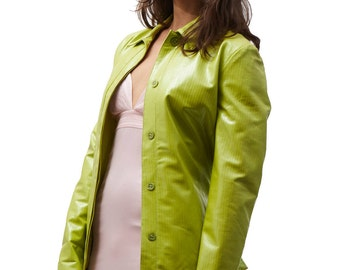 Versace jeans couture green jacket