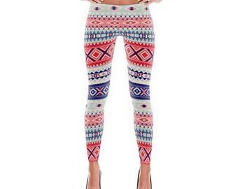 Leggings, Womens Leggings, Yoga Pants, Tribal Leggings