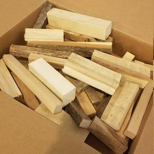 Box of Scrap Wood - Various Species - Various Sizes