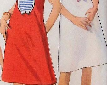 Vintage Dress Sewing Pattern UNCUT Simplicity 5964 Size 16