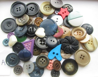 Destash Buttons Random Mixture Bargain Bag A