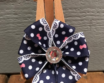 SPRING SALE 50% off NEW! One of a kind*** Small Loop Dog Bow