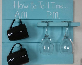 How to Tell Time A.M P.M. Sign