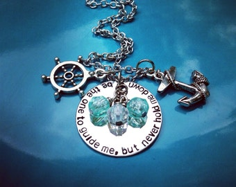 be the one to guide me, but never hold me down necklace