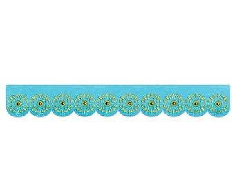 NEW LOW PRICE: Sizzix Sizzlits Decorative Strip Die - Sunflowers  658396