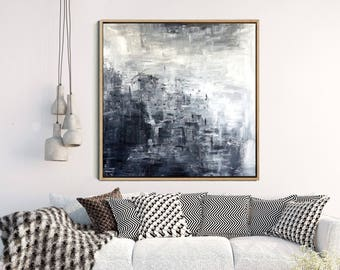 Elegant Modern Wall Art, Abstract Art, Black And White Print, Minimalist Poster,  Giclee