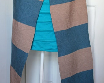 Scallops - Handwoven Warm Scarf