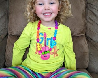 Chic Toddler Rainbow Heart Necklace