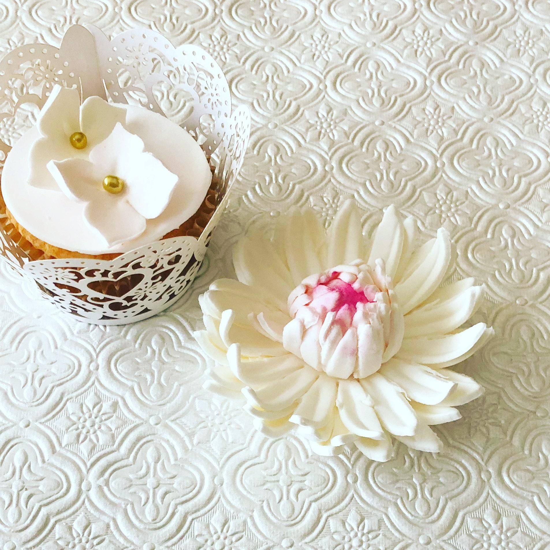 3 Gerbera Daisy Fondant Flower Ii 3 Gerbera Daisy Gumpaste