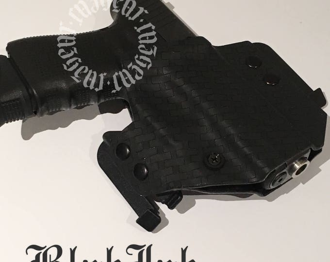 BlakJak Slim holster in Basket Weave (NEWMODEL!) . Click on variations when ordering.