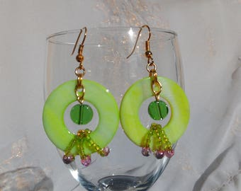 Small spring earring