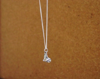 Dressage Saddle Pendant Sterling Silver with Chain,Equestrian Jewelry,Horse Jewelry,Saddle Necklace