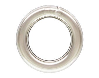25pc, 4mm Closed Jump Rings. 20 gauge Thick Sterling Silver Jump Ring. Soldered Closed. Solid rings For bracelets, necklaces. Made in USA
