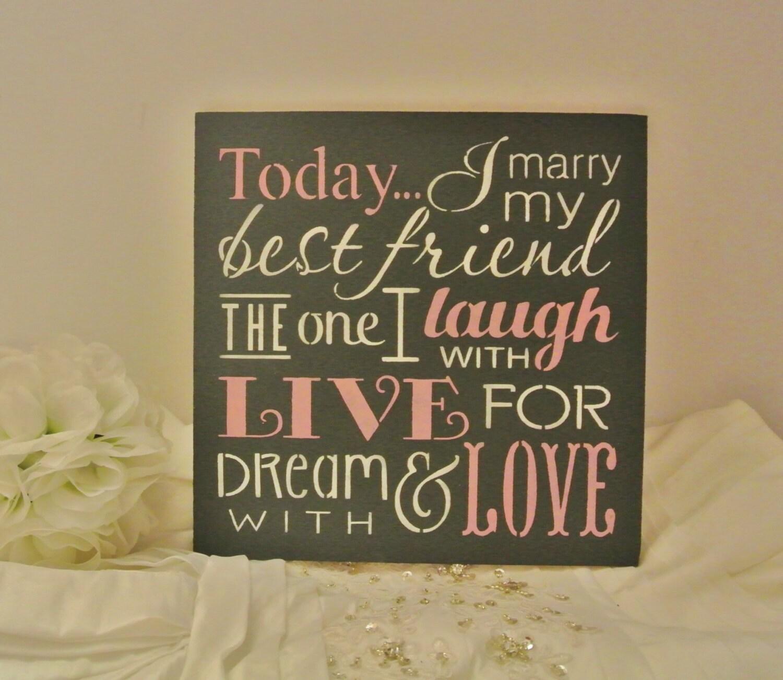 Heute Heirate Ich Meinen Besten Freund