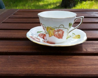 Bone China Teacup, Made in England