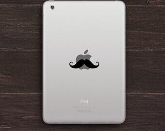 Mustache Vinyl iPad Decal BAS-0144