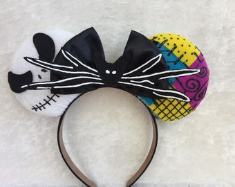 Nightmare Before Christmas Themed Mouse Ears