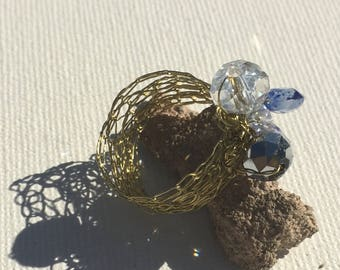 Knitted Bling Ring