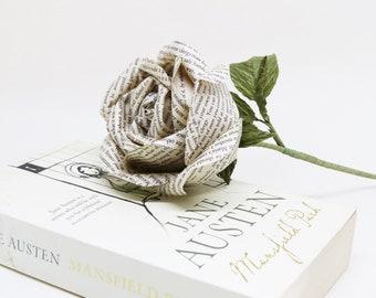 Jane Austen Collection: Mansfield Park Paper Rose