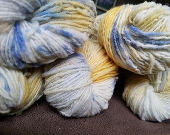 Hand dyed yarn, 100% wool, indie dyer,artisan yarn,knitting,crochet