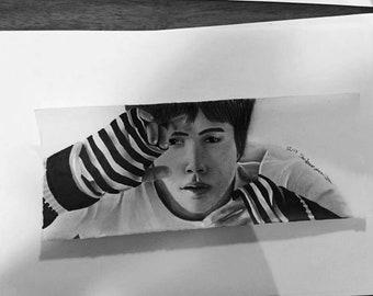 Seokjin - Jin - BTS Drawing
