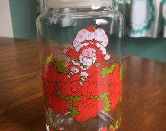 Strawberry Shortcake Collectible Fresh Canister Jar
