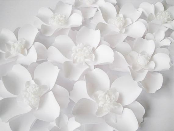 White paper flower backdrop geccetackletarts white paper flower backdrop mightylinksfo