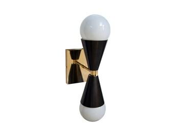 Kelvin Solid Brass Sconce