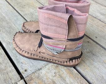 fake leather & hemp EU37 UK4 last pair!