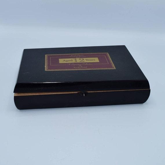 Rocky Patel Cigar Box, Wooden Box, Tobacco Box, Stash Box, Storage Box, Wooden Container, Cigar Decoration, Tobacciana, Purse Supplies