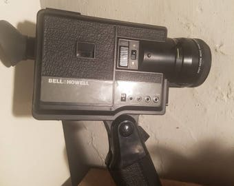 Bell and Howell ms45 movie camera