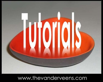 Technique (FREE FORM - How to make 3D bowls without any sample forms (e-book) TUTORIAL) by Veronica